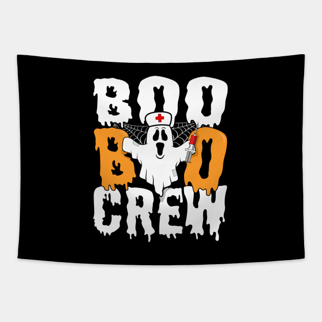 Boo Boo Crew Nurse Ghost Halloween Costume Funny T-Shirt