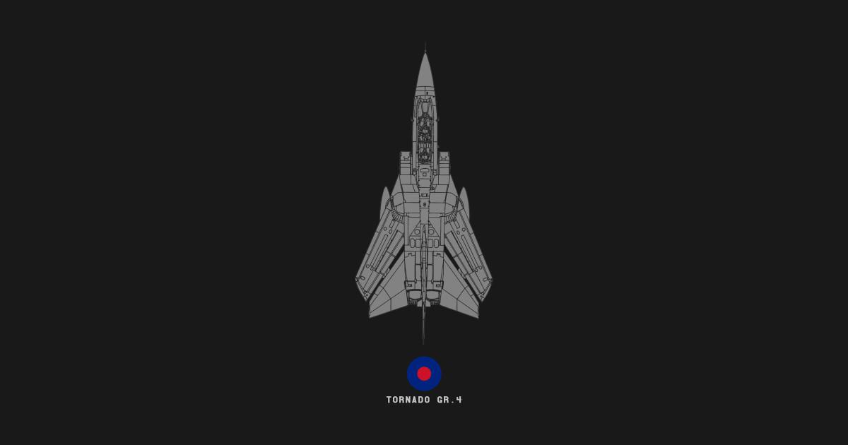 on sale 630e9 80278 Panavia Tornado GR.4 RAF Jet Military Airplane Tech Drawing by  designedforflight