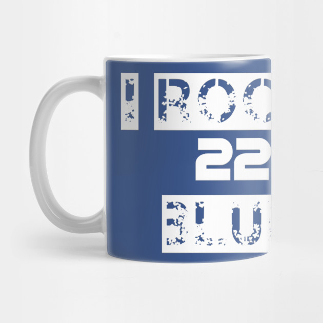 058e6281fb0a I rock blue - Throwboytees - Mug | TeePublic