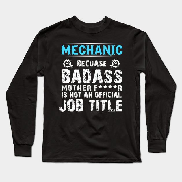 c18cdcc56 Funny Mechanic T-shirt. Diesel aircraft mechanic shirts Long Sleeve T-Shirt