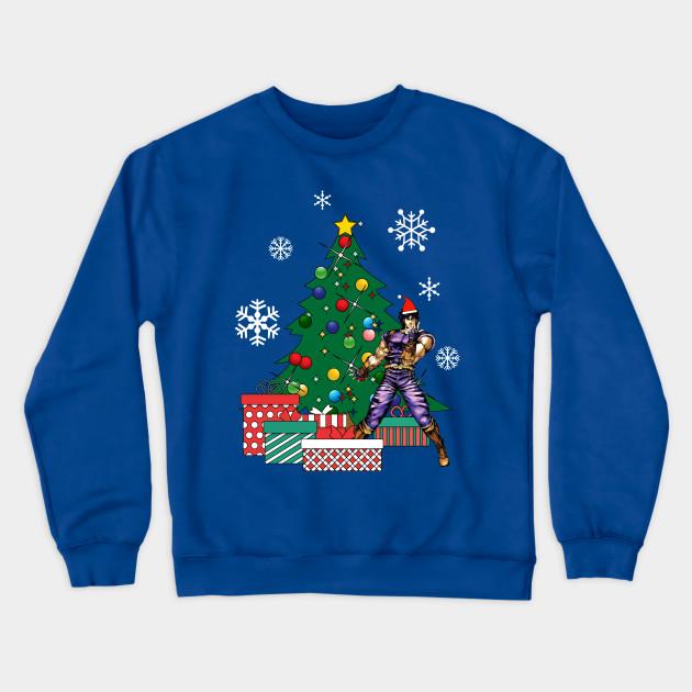 Jojo Christmas Sweater.Jojo Bizarre Around The Christmas Tree