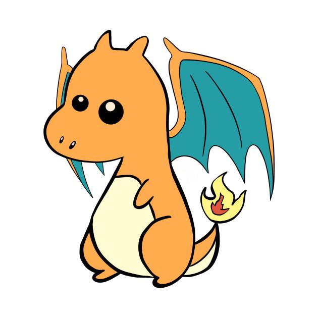cute Charizard - Pokemon - Kids T-Shirt | TeePublic