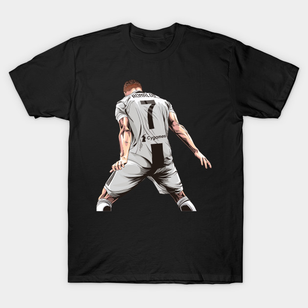 separation shoes 57b40 fb789 Cristiano Ronaldo CR7 Juventus Tshirt