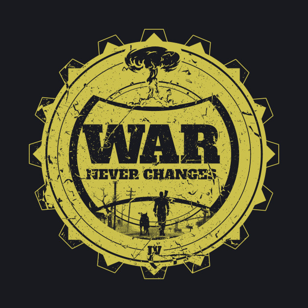 War Never Changes Yellow