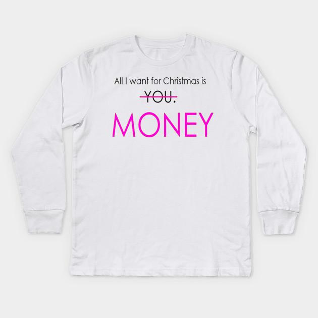 6b3182e1 Funny Christmas sayings t-shirt - Chrismas Quote - Kids Long Sleeve ...