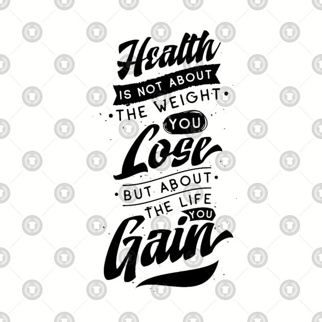 Healthy Eating Quote with Vintage Typography Graphic Design for a Healthy  Lifestyle
