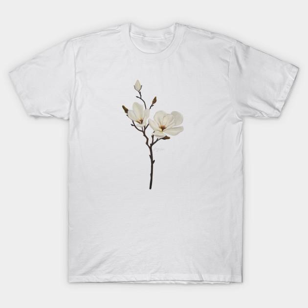 White Magnolia Magnolia T Shirt Teepublic