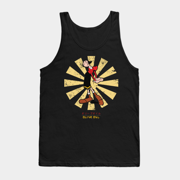 Popeye Anchored Adult Tank Top