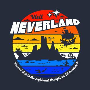 Visit Neverland t-shirts