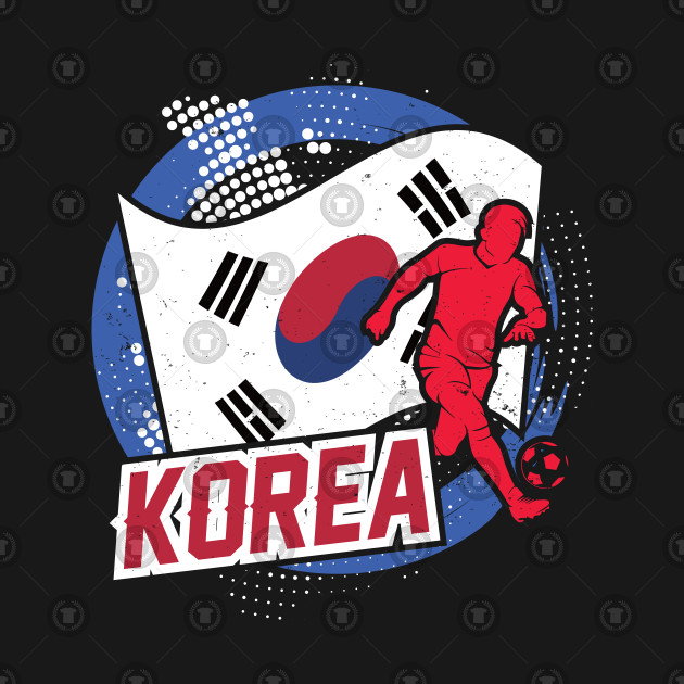 Football Worldcup Korea Korean Soccer Footballer Rugby Gift