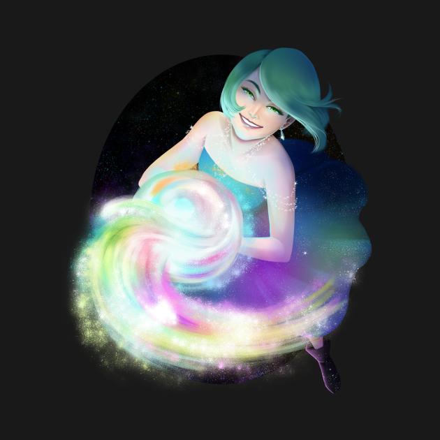 Rainbow Nebulae Wave