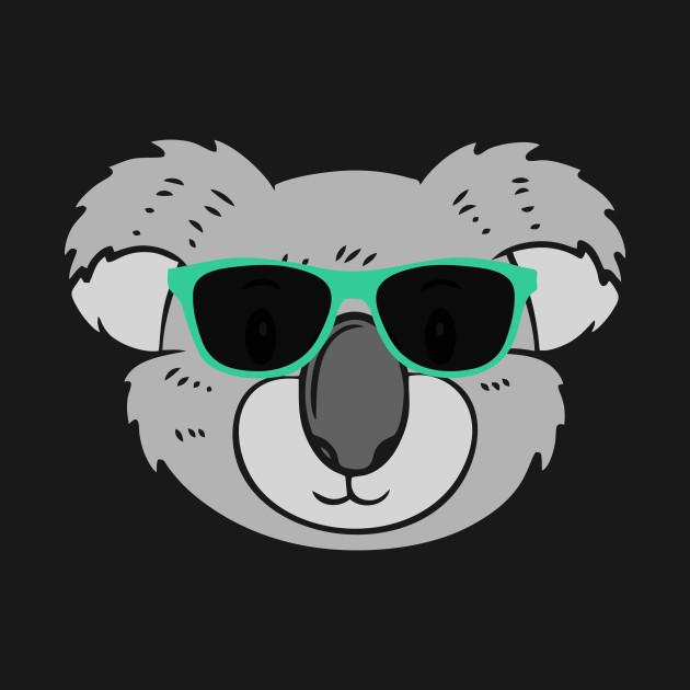 31001c0caa6 Cute Koala Wearing Sunglasses Cute Koala Wearing Sunglasses