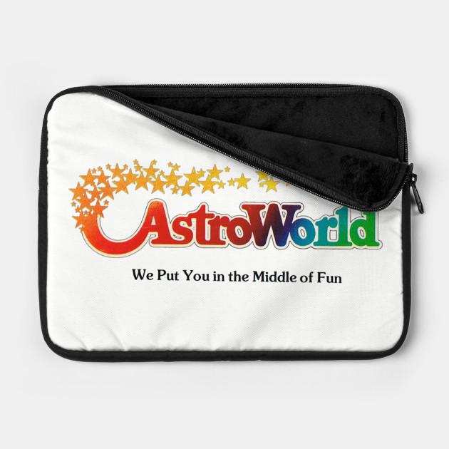 Astroworld Theme Park - Houston, Texas - Promo Logo