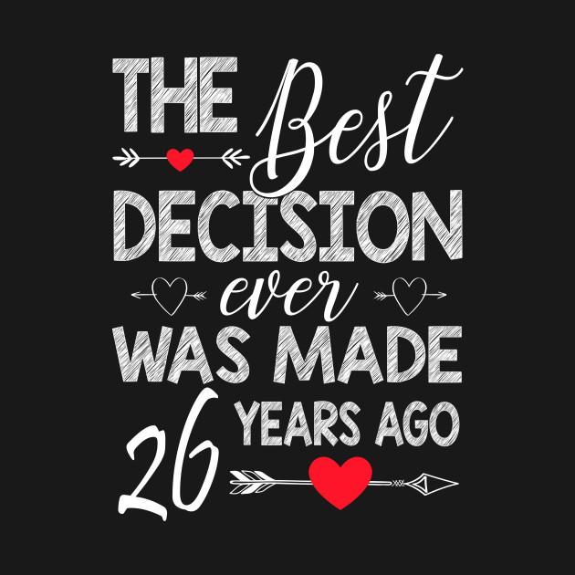 26th Wedding Anniversary Shirt For Couple