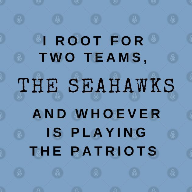 Seahawks not Patriots
