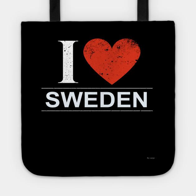 I Love Sweden - Gift for Swedish From Sweden