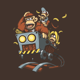 Indiana Kong and the Temple of Nanners t-shirts
