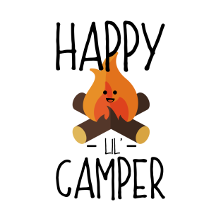 Happy Camper Camping T Shirts