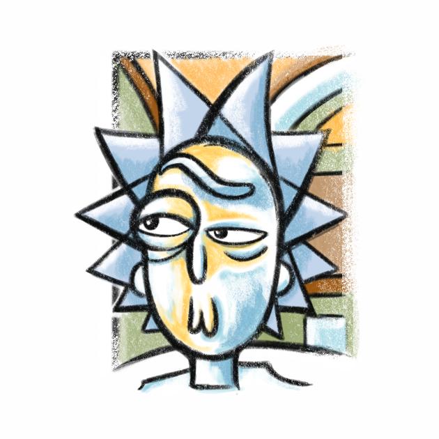 Abstract Rick