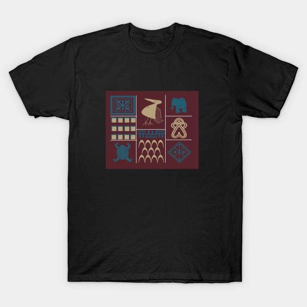 Tribal batik T-shirt
