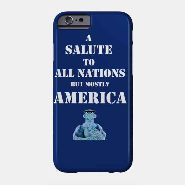 Salute to all nations (mostly America)