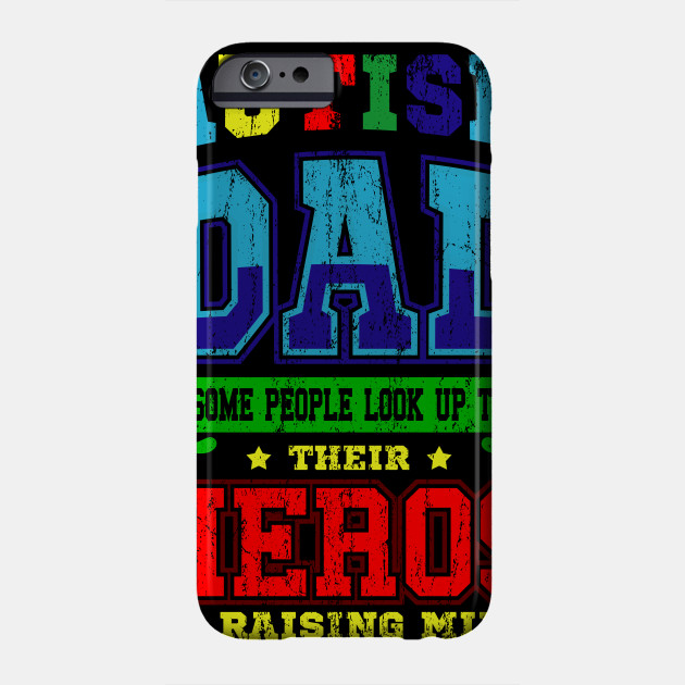 Autism Asperger Father's Day Dad World Autism Day Gift Phone Case