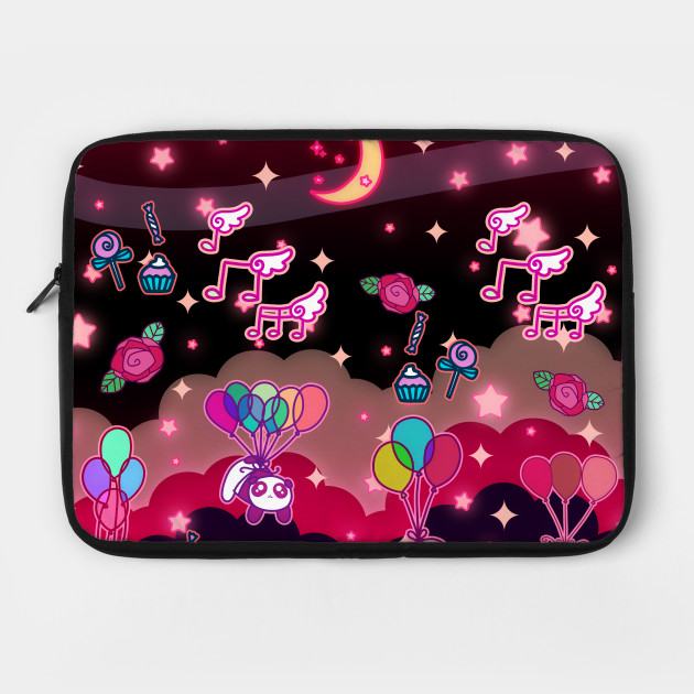 Animals Balloons and Night Sky