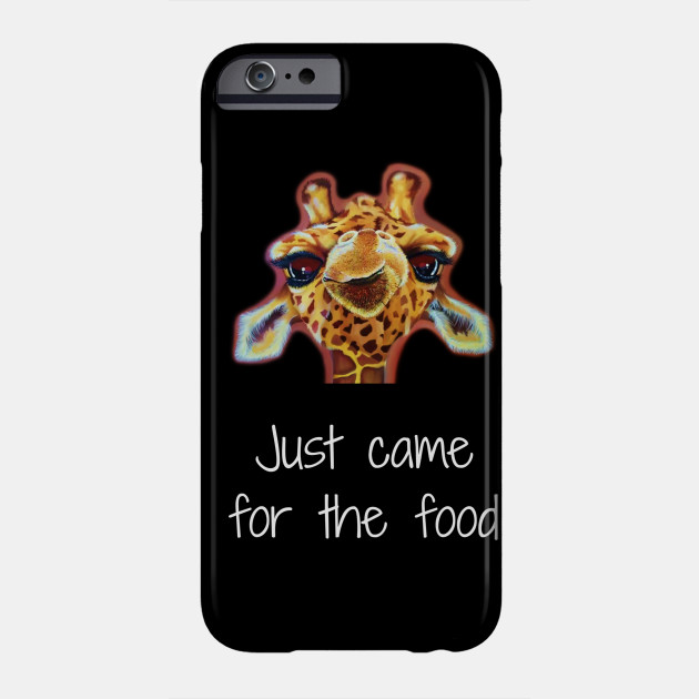 Funny Came For The Food Giraffe