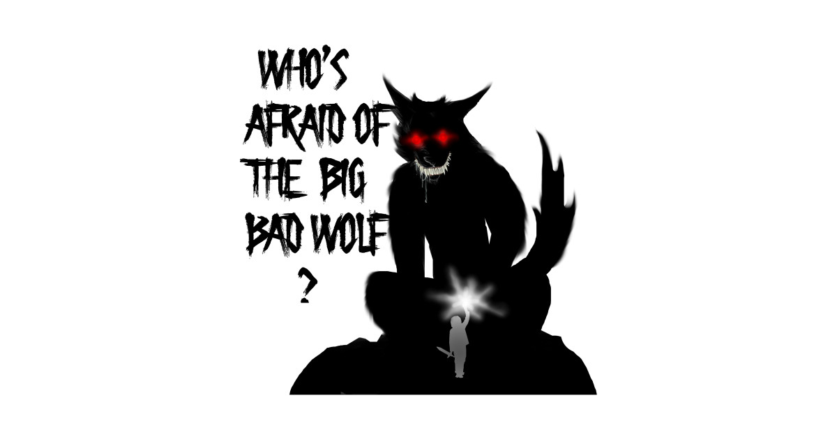 The Big Bad Wolf Big Bad Wolf Sticker Teepublic