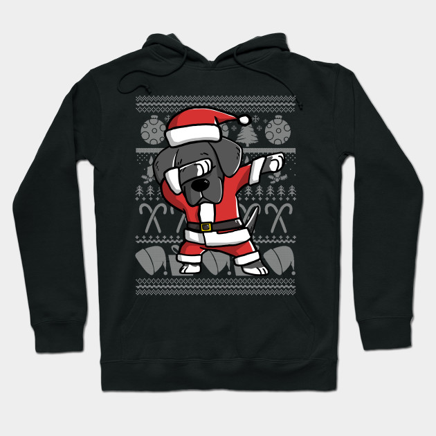 Dabbing Great Dane Ugly Christmas Sweater Graphic - Great Dane ...