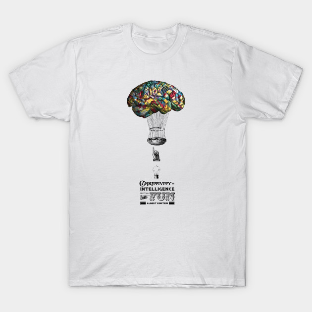 1b98918c1 Balloon Brain - Creative - T-Shirt