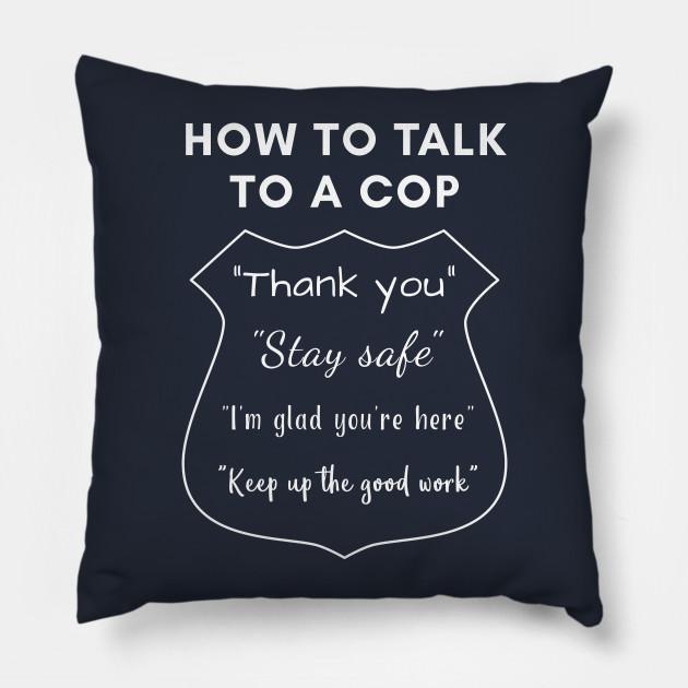 Talk to a cop online