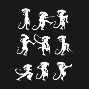 MInistry of Alien Silly Walks t-shirts