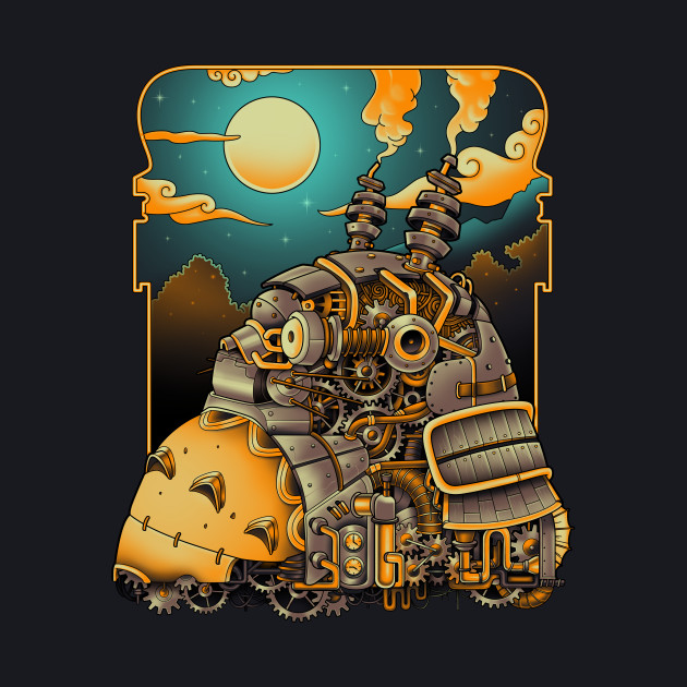 Steampunk Neighbor