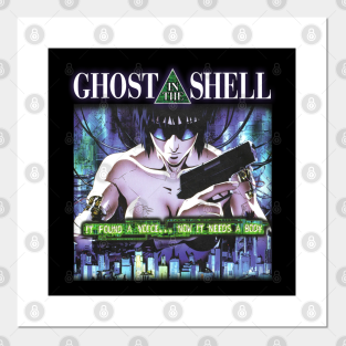 Japanese Anime Manga Ghost In The Shell Posters And Art Prints Teepublic