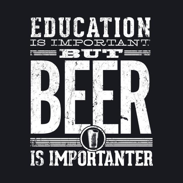 Beer Is Importanter