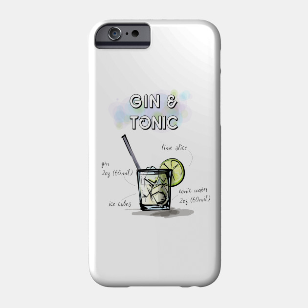 Gin and Tonic iPhone 11 case