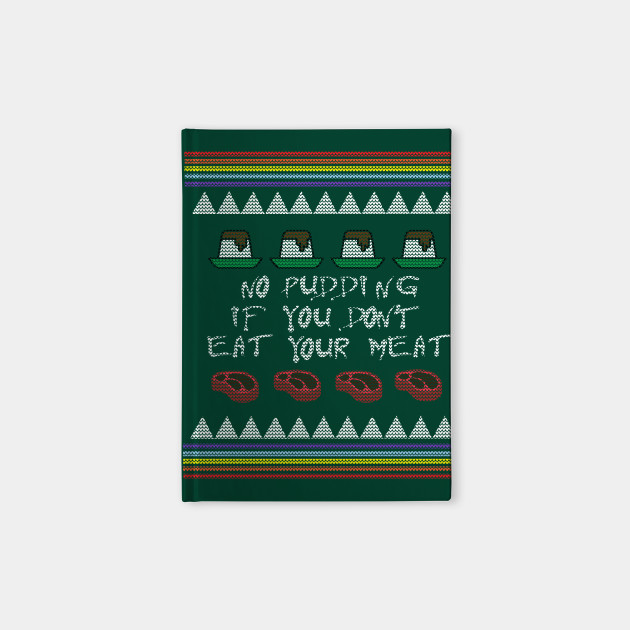 Pink Floyd Xmas Sweater Ugly Christmas Sweater Notebook Teepublic
