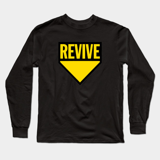 Zombie Yellow Sleeve Revive Long ShirtTeepublic Gaming T EDWH9Ye2I