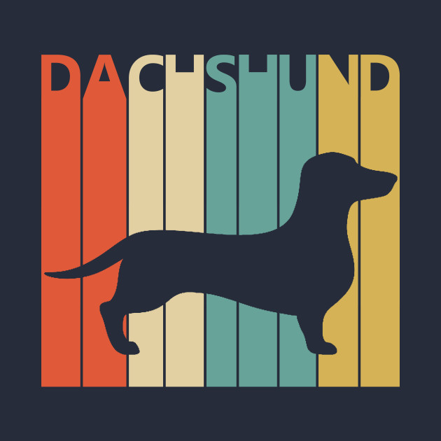 Vintage 1970s Dachshund Dog Owner Gift