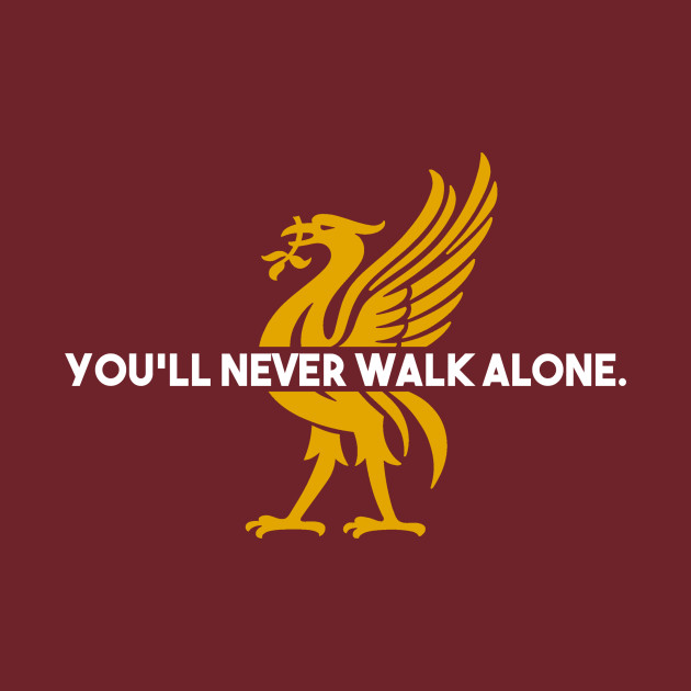 aa93cf588 You ll Never Walk Alone - Liverpool Fc - Pillow