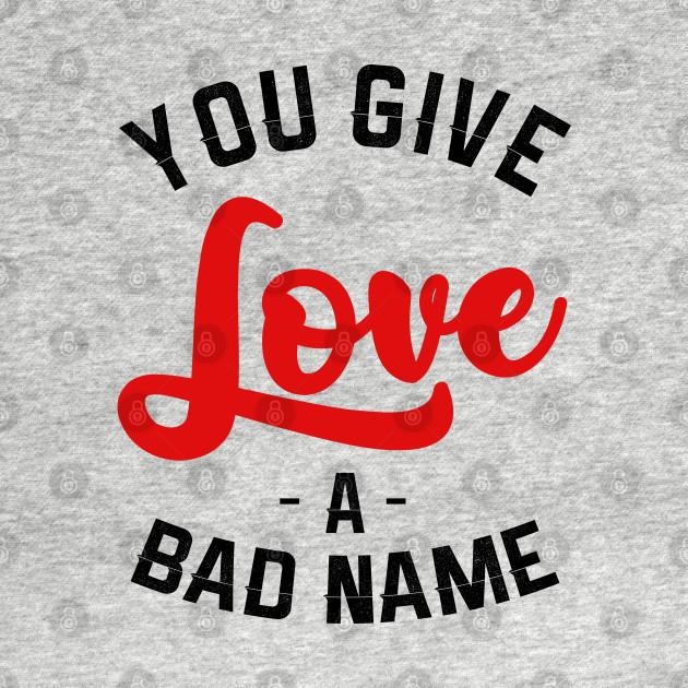 Bon Jovi Kids T-Shirt Bad Name Red Heather Tee