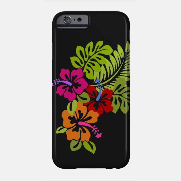 Tropical Hibiscus Flowers Bouquet - Hibiscus Flower - Phone Case ...