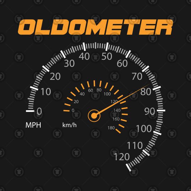 Oldometer Automotive Auto Mechanic Mileometer Hodometer Mileage Traversed