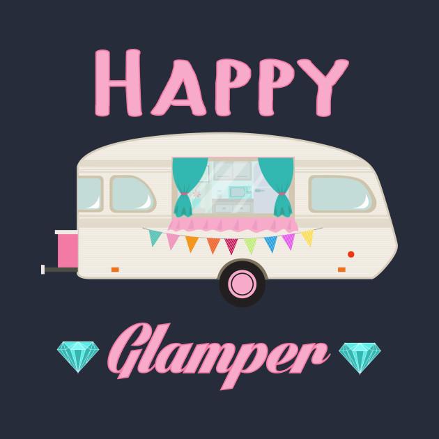 Happy Glamper - Pink Glam Camper Trailer RV Camping ...
