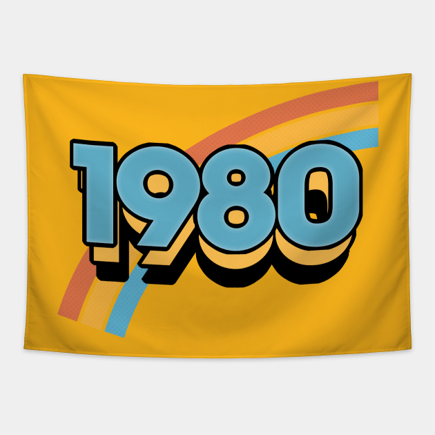 1980 //// Retro Birthday Design