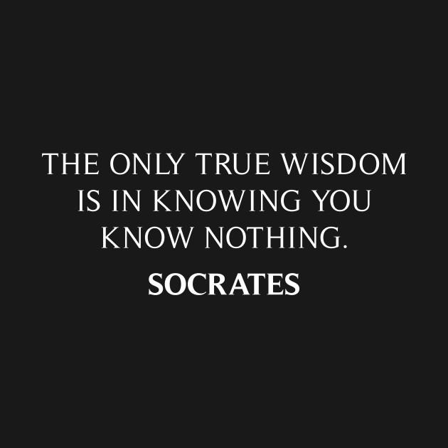 Socrates Quote - Quotes - T-Shirt