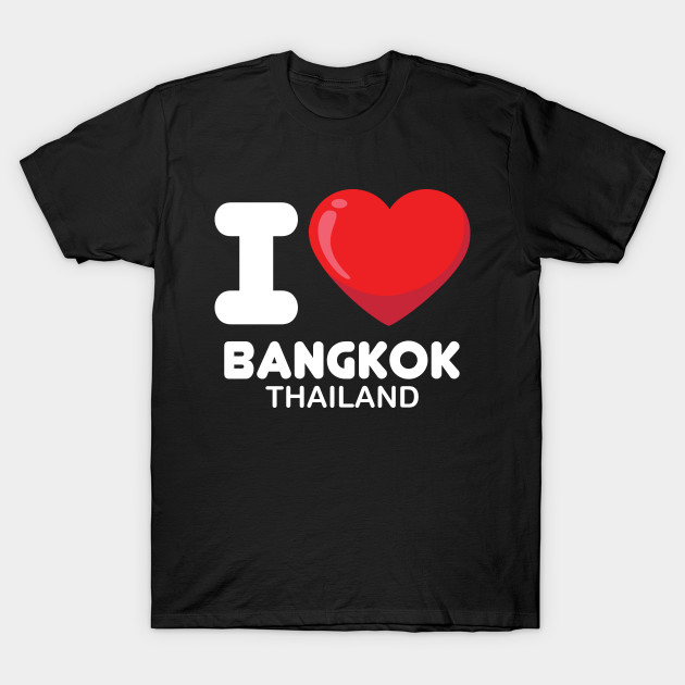 I Love Heart Bangkok Black Kids Sweatshirt