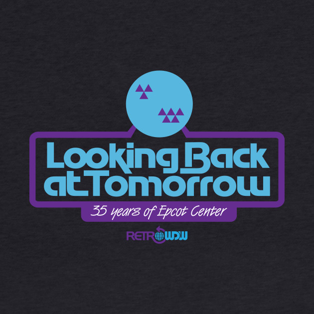 Looking Back at Tomorrow - Blue/Purple