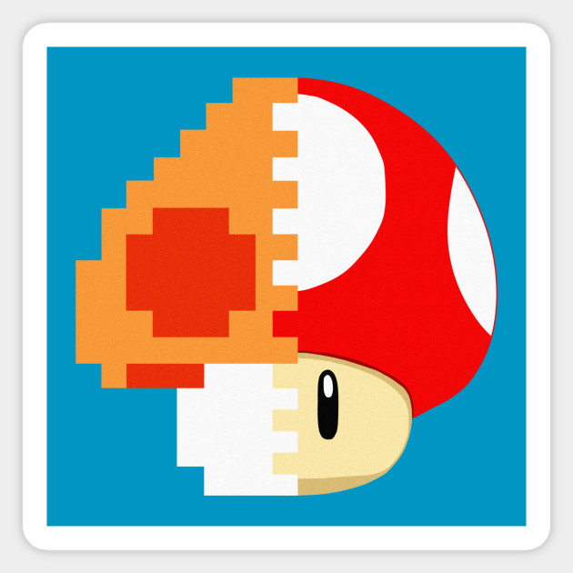 Super Mario Bros Mushroom Pixel Art Gallery Of Arts And Crafts